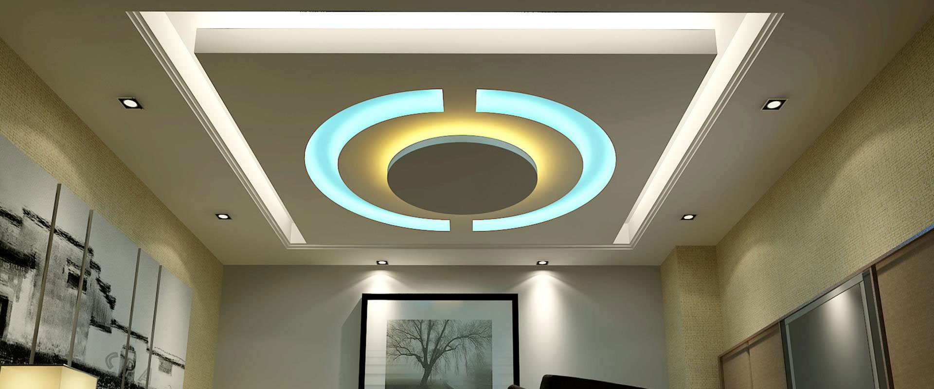 Building Interior Gypsum False Ceiling In Coimbatore At Reasonable Cost